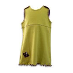 Chill n Feel - Mitwachs-Kleid für Mädchen in Golden Green