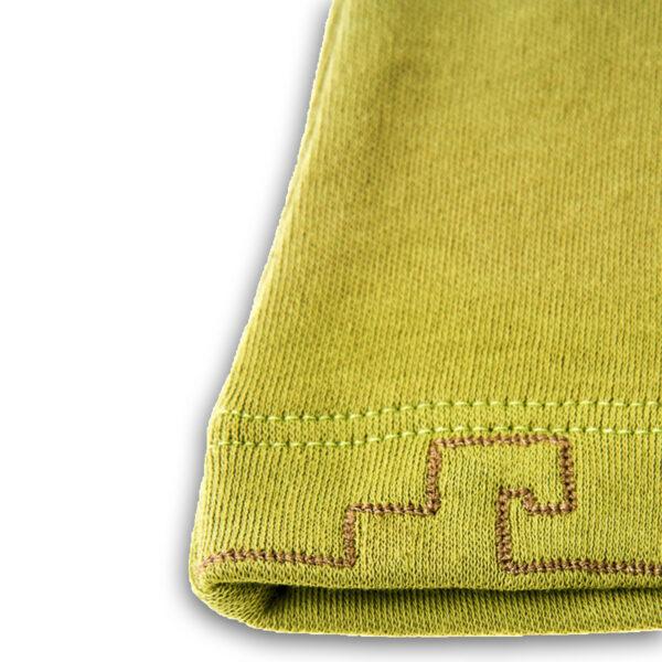 Chill n Feel - Baby-Pullover Inka aus Bio-Pima-Baumwolle Grün Braun (1)
