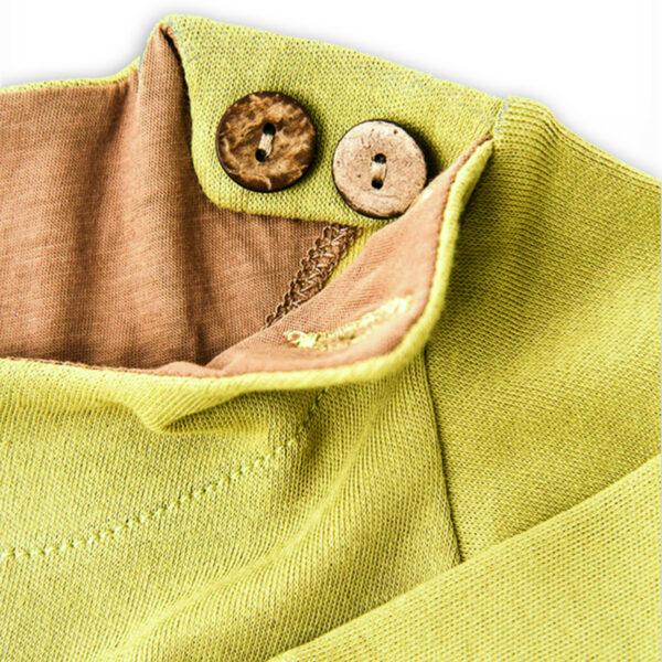 Chill n Feel - Baby-Pullover Inka aus Bio-Pima-Baumwolle Grün Braun (3)