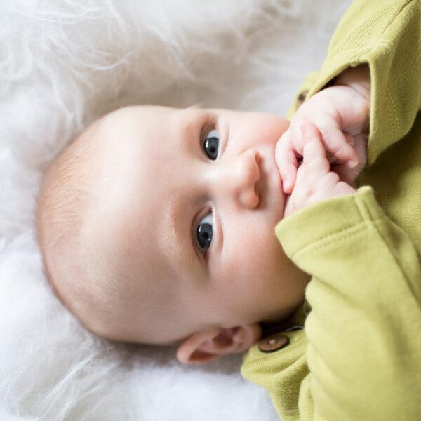 Chill n Feel - Baby-Pullover Inka aus Bio-Pima-Baumwolle Grün Braun (6)