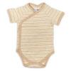 Chill n Feel - Kurzarm-Kimono Baby Body aus Pima Bio-Baumwolle Gestreift (4)