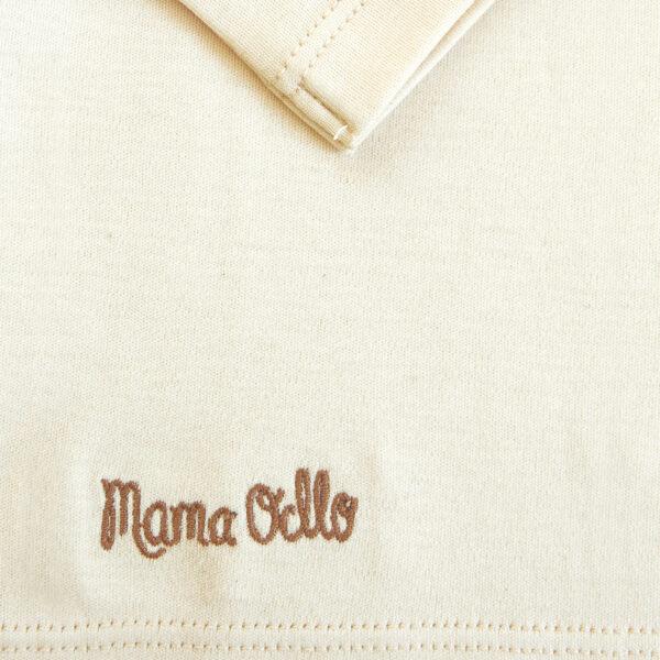 Chill n Feel - Langarm Baby-Schlupfhemd aus Bio Pima-Cotton Beige Pflaume (1)