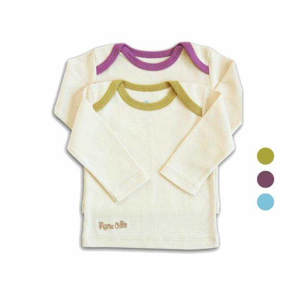 Chill n Feel - Babyshirt 2er-Set aus Pima Baumwolle