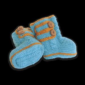 Baby Boot Alpaka Blau (4rx)