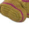 Chill n Feel - Baby Stricksocken Grün aus Baby Alpaka Wolle (3)