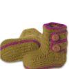 Chill n Feel - Baby Stricksocken Grün aus Baby Alpaka Wolle (4)