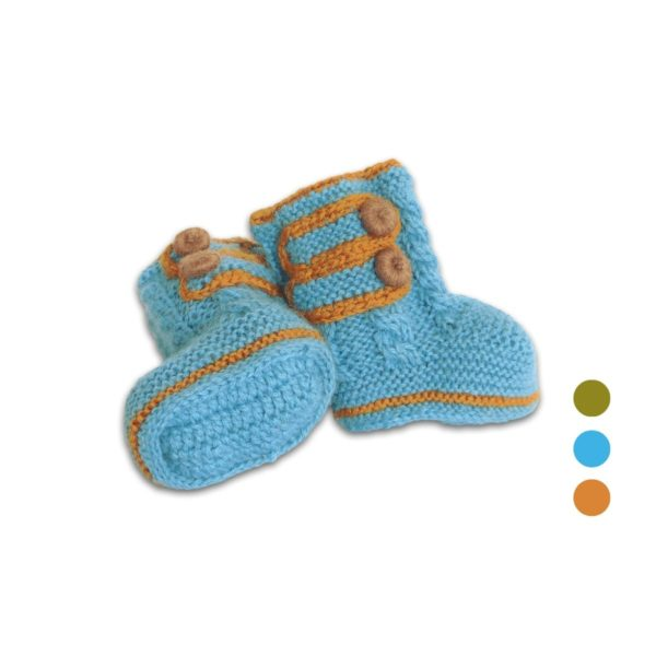 Chill n Feel - Baby Stricksocken aus Baby Alpaka Wolle