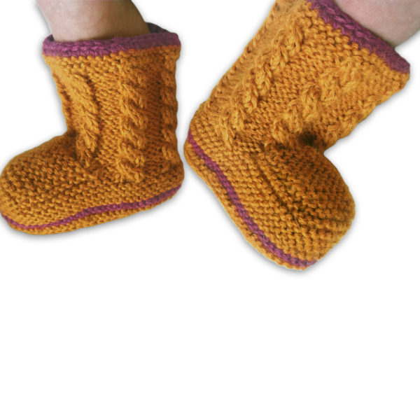 Chill n Feel - Baby Stricksocken aus Alpakawolle