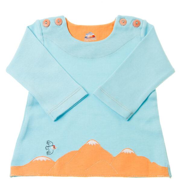 Chill n Feel - Baby Pullover für Bergfreunde_Kondor Stickerei