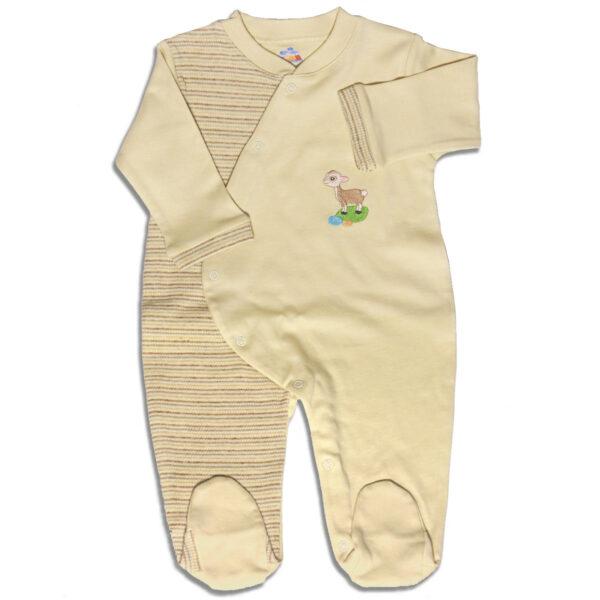 Chill n Feel - Baby Schlafanzug mit Fuß aus Bio-Baumwolle