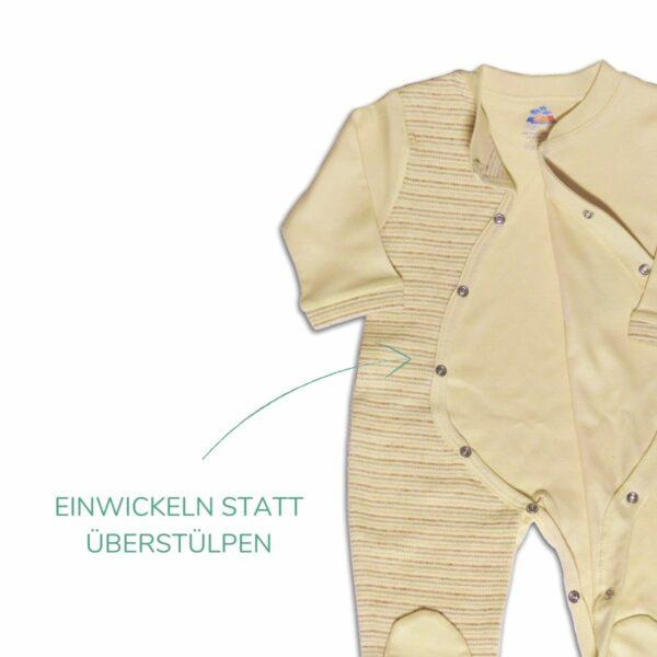 Chill n Feel - Bio Baby Schlafanzug mit Fuß_Erstausstattung (1)
