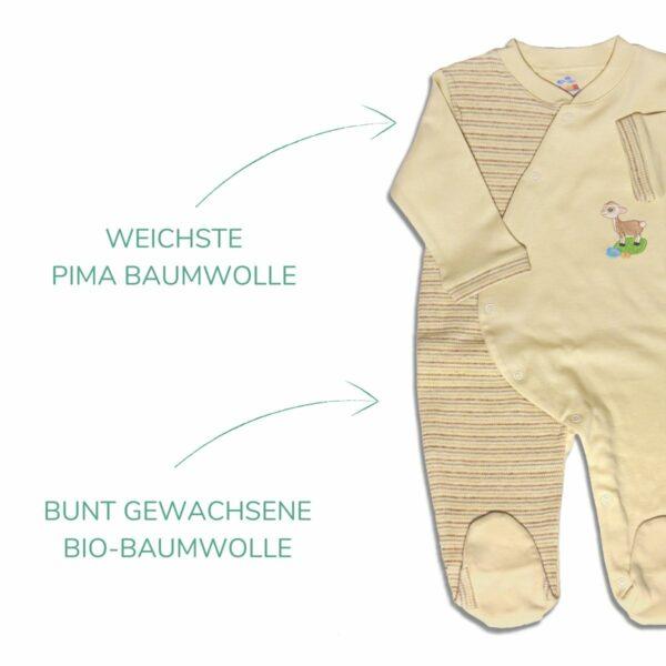 Chill n Feel - Bio Baby Schlafanzug mit Fuß_Erstausstattung (3)