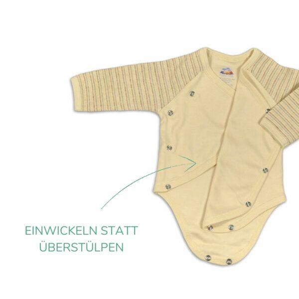 Chill n Feel - Wickelbody langarm_Baby Erstausstattung_ungefärbt (1)
