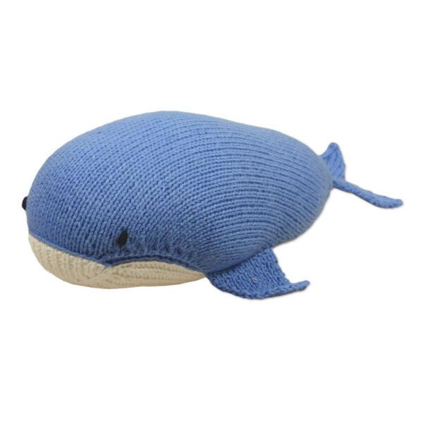 Chill n Feel - Bio Kuscheltier Wal aus Fairem Handel (4)