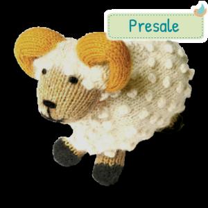 Kuscheltier Alpaka Wolle Schafbock Fairer Handel Presale (2)