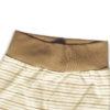 Chill n Feel - Babyhose mit Fuß und Bauchbund aus naturfarbener Baumwolle Gestreift Braun (4)