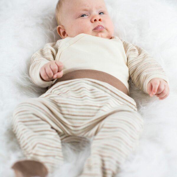 Chill n Feel - Babyhose mit Fuß_Baby Erstausstattung_Strampelhose
