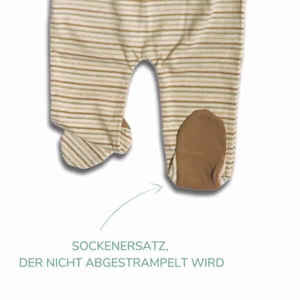 Chill n Feel - Babyhose mit Fuß_unbehandelt, naturbelassen (2)