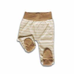 Babyhose mit Fuß_Neugeborenen Leggings