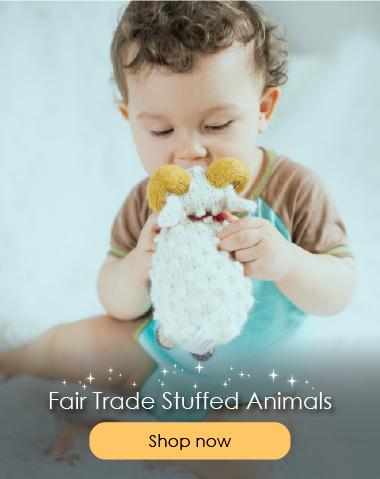 Button Fair Trade Stuffed Animals