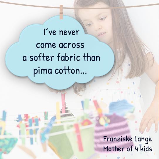 Testimonial Pima Cotton Baby Apparel EN