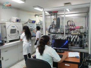 Farben-Textilindustrie-Peru-Produktionskette