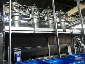 Industrie-Waschmaschine-Peru-Produktionskette