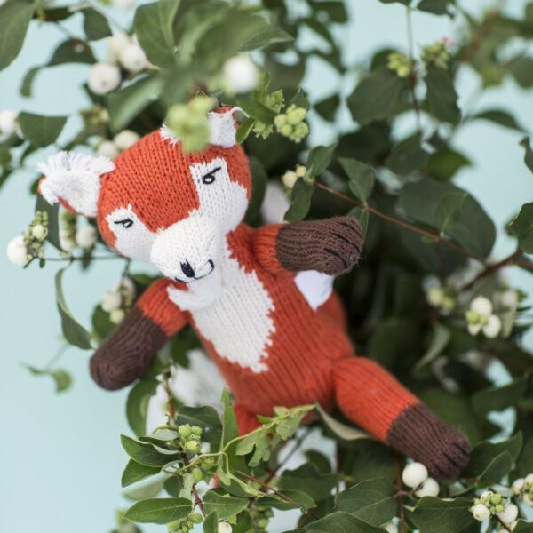 Chill n Feel - Fair Trade Kuscheltier Fuchs Diego aus Bio-Baumwolle (8)