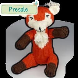 Kuscheltier Diego der Fuchs aus Bio Baumwolle Presale