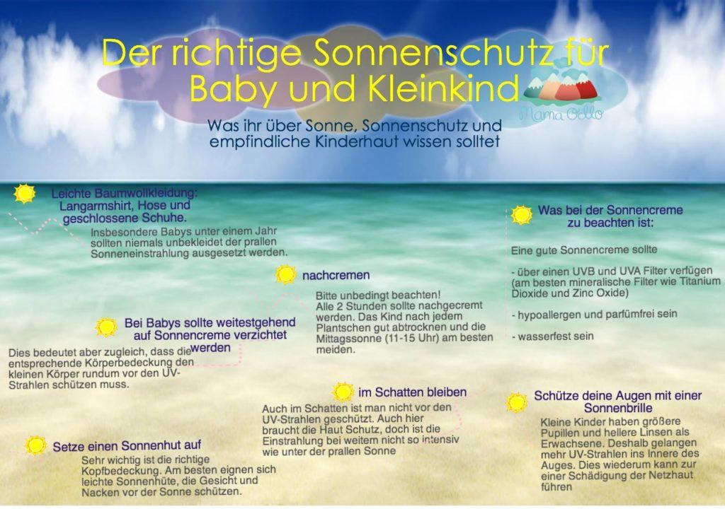 Der richtige Sonnenschutz für Baby und Kleinkind