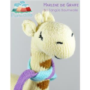 Kuscheltier aus Bio Baumwolle Fair Trade Giraffe
