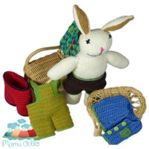 DIY Kleidung für Kuscheltier Papa Hase Häkelanleitung (3)