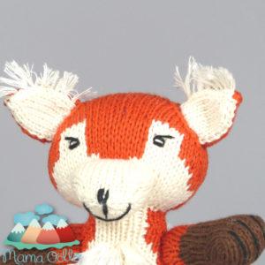 Kuscheltier Diego der Fuchs aus Bio-Baumwolle (2)