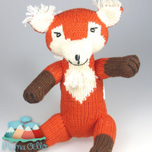 Kuscheltier Diego der Fuchs aus Bio-Baumwolle