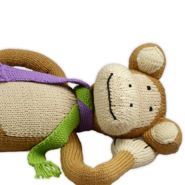Chill n Feel - Bio Kuscheltier Affe aus Biobaumwolle (1)