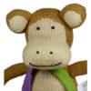 Chill n Feel - Bio Kuscheltier Affe aus Biobaumwolle (2)