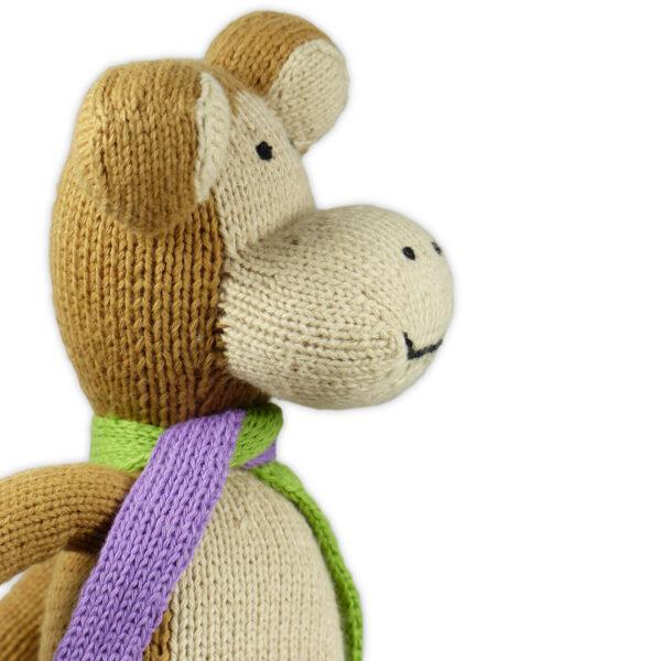 Chill n Feel - Bio Kuscheltier Affe aus Biobaumwolle (3)