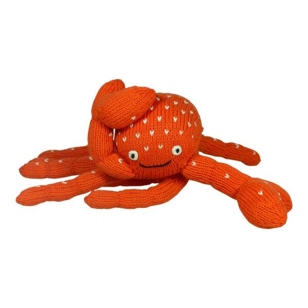 Kuscheltier Krebs_Krabbe aus Biobaumwolle (1)