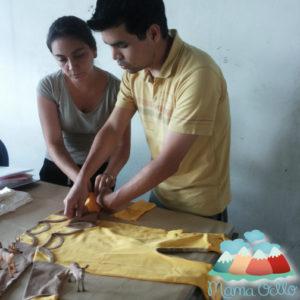 Pflanzengefärbte Garne aus Bio Baumwolle (5)