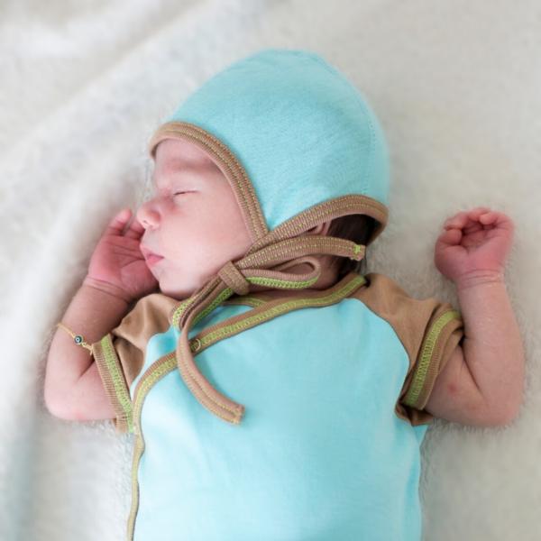Chill n Feel - Baby Häubchen wie Seide_Mütze für Neugeborene