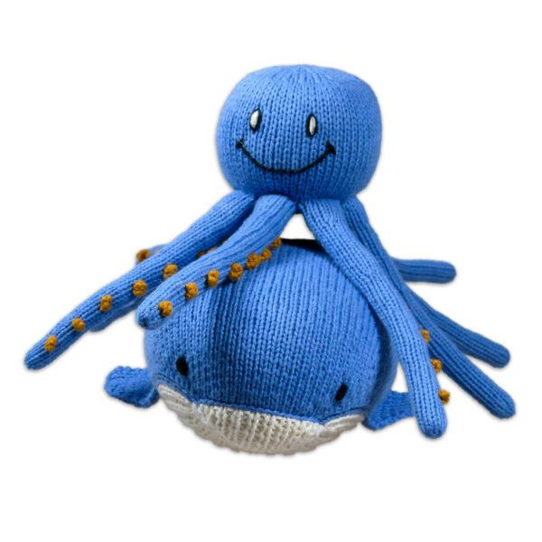 Chill n Feel - Kuscheltier-Set Blauwal und Oktopus aus Biobaumwolle (2)