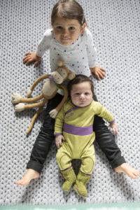 Ein Vormittag, 4 Protagonisten und viele zauberhafte Baby- und Kinderbilder