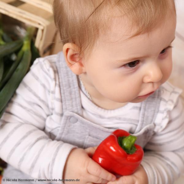 Mit gesunder Säuglings- und Kinderernährung durchs neue Jahr
