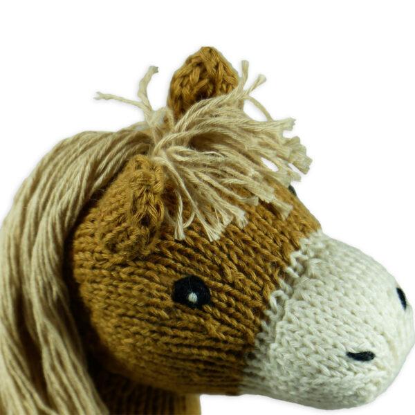 Chill n Feel - Bio Kuscheltier Pferd aus Biobaumwolle (14)