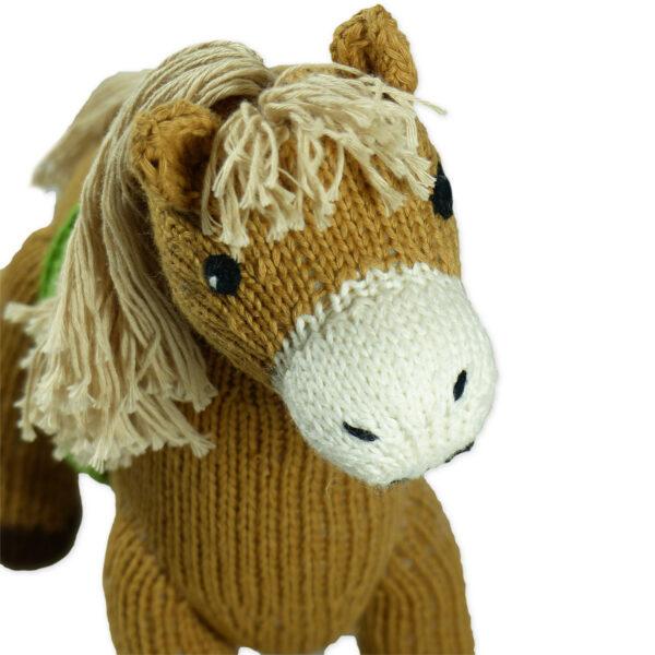 Chill n Feel - Bio Kuscheltier Pferd aus Biobaumwolle (2)