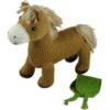 Chill n Feel - Bio Kuscheltier Pferd aus Biobaumwolle (7)