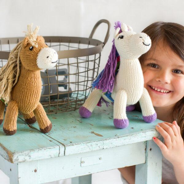 Chill n Feel - Nachhaltige Babygeschenke_Einhorn_Pferd