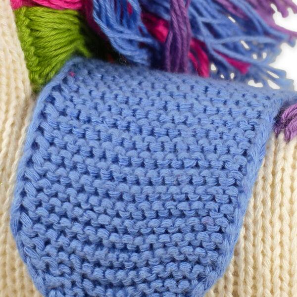 Chill n Feel - Strick-Kuscheltier Einhorn aus Bio-Baumwolle (6)