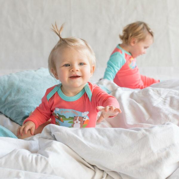 Chill n Feel - Baby Body für Mädchen Meerschweinchen Print Pima Bio-Baumwolle (2)