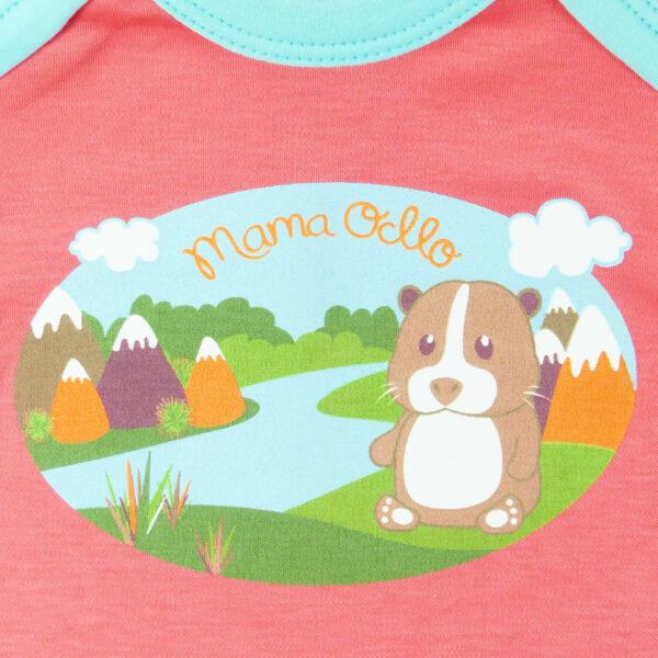 Baby Body für Mädchen aus Pima Bio-Baumwolle